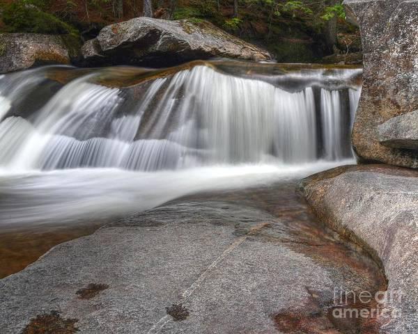 Wall Art - Photograph - Screw Auger Falls by Steve Brown