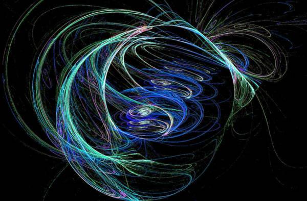 Digital Art - Scribble Fractal by Don Northup