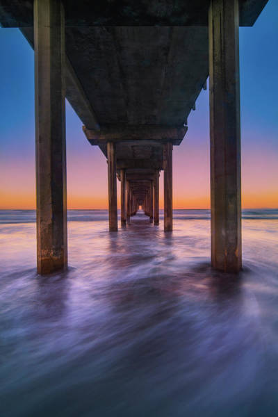 Photograph - Scripps Pier - 2 by Jonathan Hansen