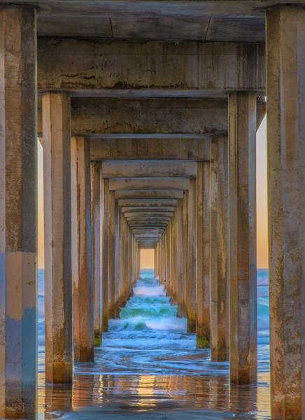 Photograph - Scripps Pier by Jonathan Hansen