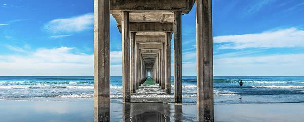Photograph - Scripps Pier La Jolla California by Robert Bellomy
