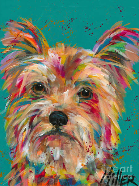 Wall Art - Painting - Scruffy by Tracy Miller