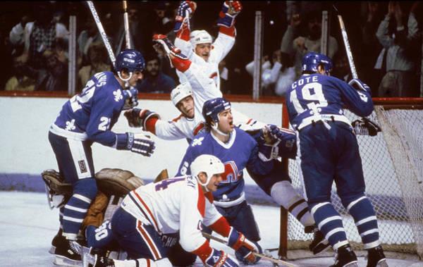Montreal Photograph - Scrum At Goal by B Bennett