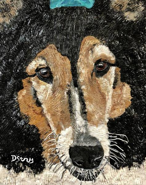 Mixed Media - Scully by Deborah Stanley