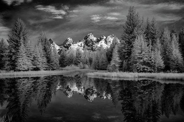 Photograph - Scwabachers Landing In The Tetons II by Jon Glaser