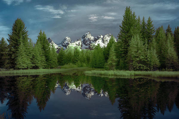 Wall Art - Photograph - Scwabachers Landing In The Tetons by Jon Glaser