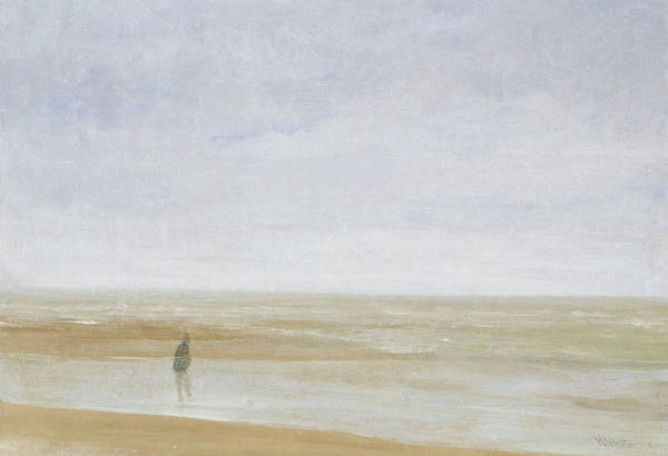 Wall Art - Painting - Sea And Rain - Digital Remastered Edition by James McNeill Whistler