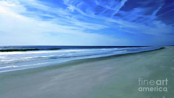 Photograph - Sea And Sky At The Beach by Roberta Byram