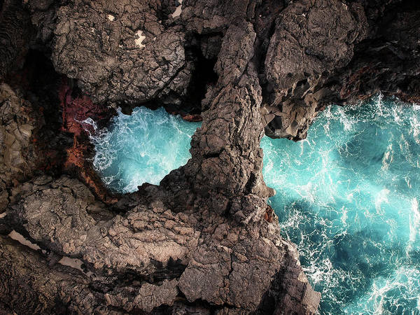 Photograph - Sea Arch by Christopher Johnson