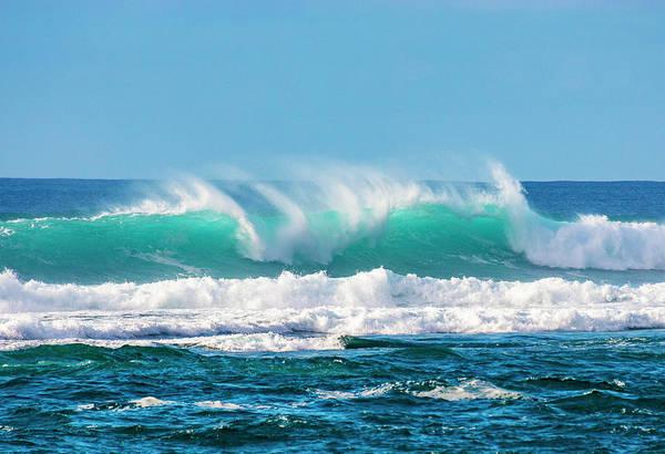 Photograph - Sea Break by Anthony Jones
