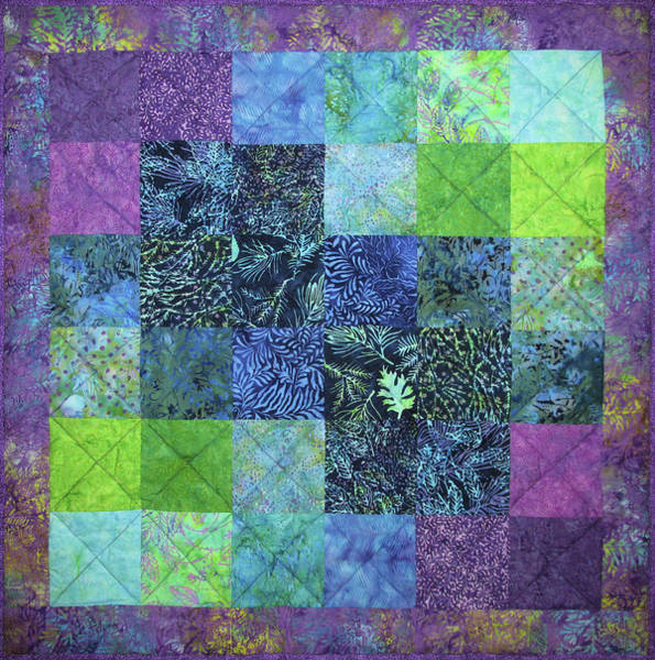 Tapestry - Textile - Sea Breeze by Pam Geisel