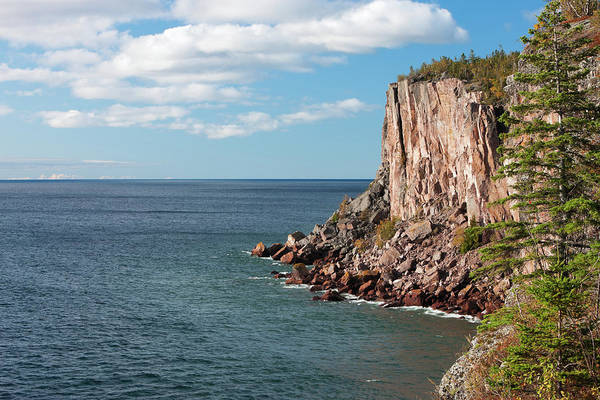 Lake Superior Photograph - Sea Cliff Overlooking Lake Superior by Jimkruger