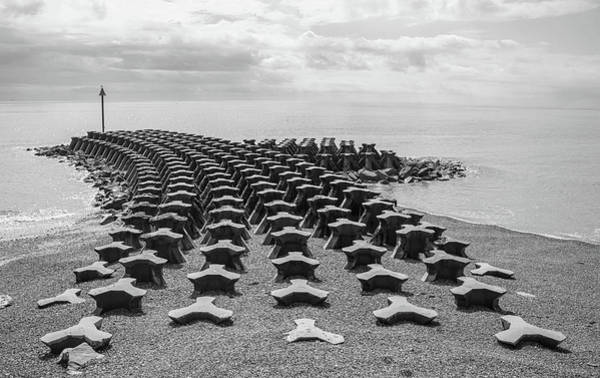 Wall Art - Photograph - Sea Defence by Martin Newman