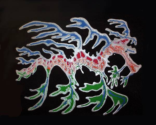 Painting - Sea Dragon by Joan Stratton