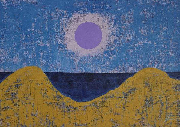 Painting - Sea Dunes Original Painting by Sol Luckman