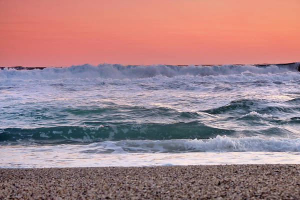 Wall Art - Photograph - Sea Force. Orange Dream Sunset  by Guido Montanes Castillo