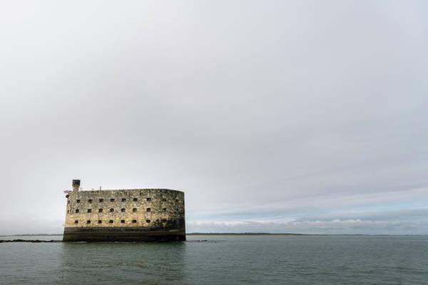 Photograph - sea fortress of Napoleon near the coast of La Rochelle by Stefan Rotter
