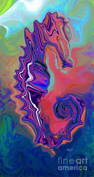 Digital Art - Sea Horse II by Rob Mandell