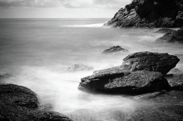 Elba Photograph - Sea In Black And White by Filippobacci