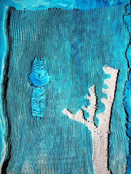Wall Art - Mixed Media - Sea Life by Danielle Rosaria