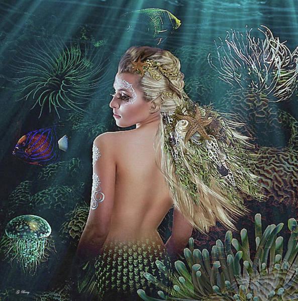 Wall Art - Mixed Media - Sea Life's Beauty by G Berry