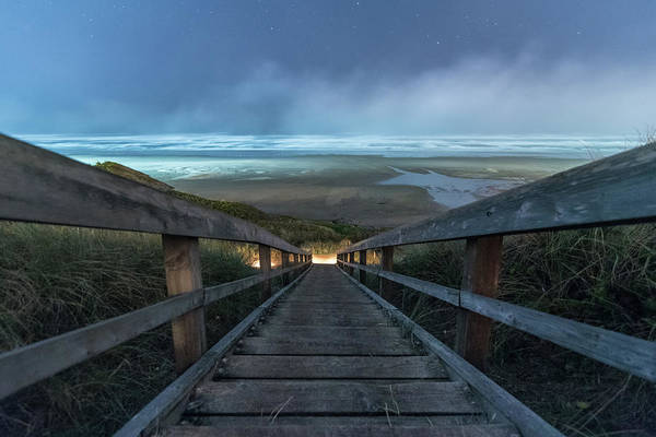 Wall Art - Photograph - Sea Mist by Kristopher Schoenleber