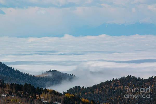 Photograph - Sea Of Fog On The Sangre De Cristo by Steve Krull