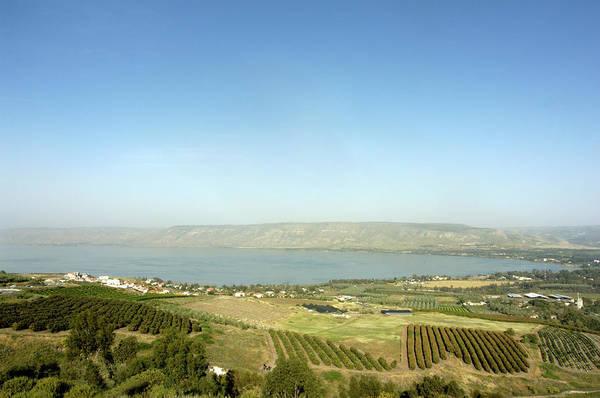 Pilgrimage Wall Art - Photograph - Sea Of Galilee by Stevenallan