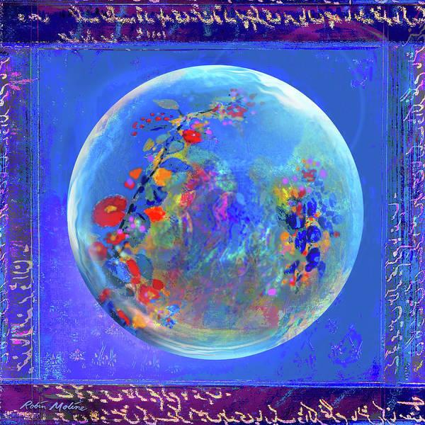 Digital Art - Sea Of Hanami by Robin Moline