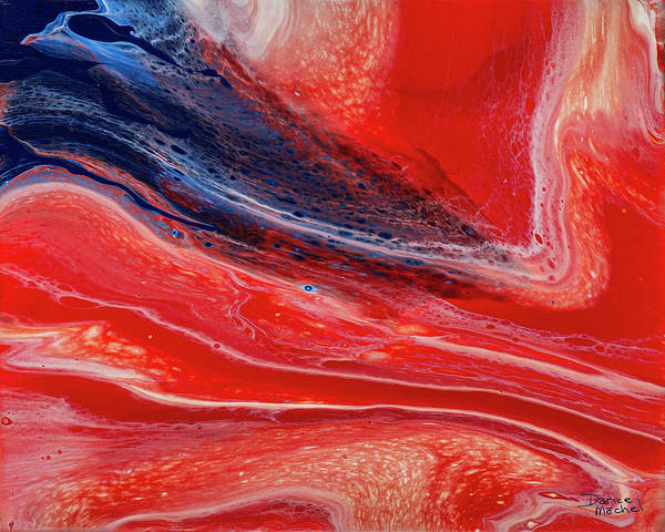 Painting - Sea Of Red by Darice Machel McGuire