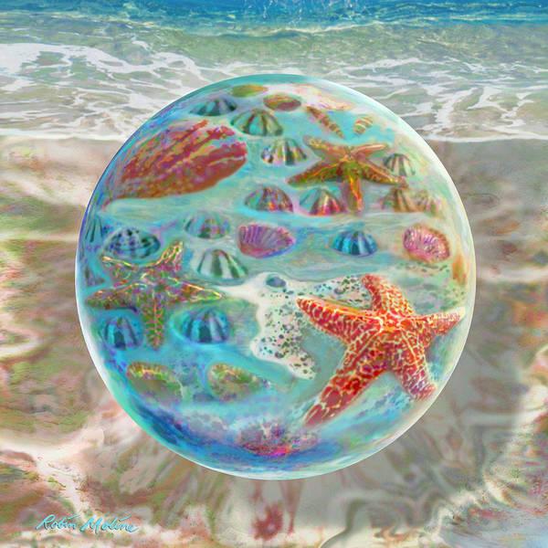 Digital Art - Sea Of Shells by Robin Moline