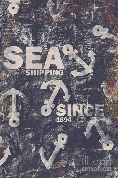 Wall Art - Photograph - Sea Shipping Since 1894 by Jorgo Photography - Wall Art Gallery