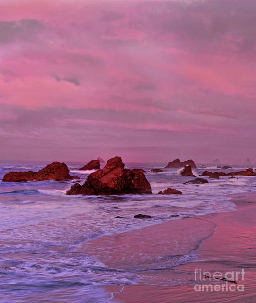 Photograph - Sea Stacks Harris State Beach Oregon by Dave Welling