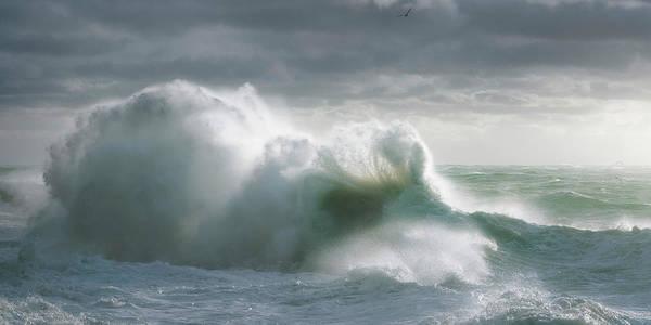 Photograph - Sea Storm 3 by Giovanni Allievi