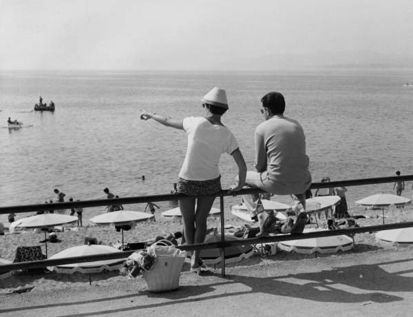 Wall Art - Photograph - Sea View by Leonard G. Alsford