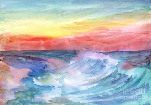 Painting - Sea Wave by Irina Dobrotsvet