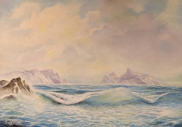 Painting - Sea Waves by Said Marie