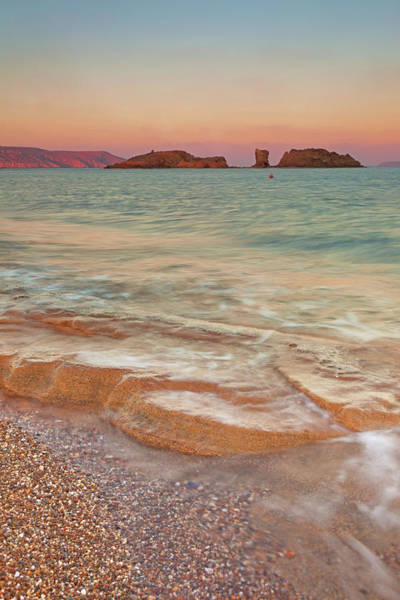Wall Art - Photograph - Sea Waves, Sitia,greece by © Mitrakoulis Alexandros