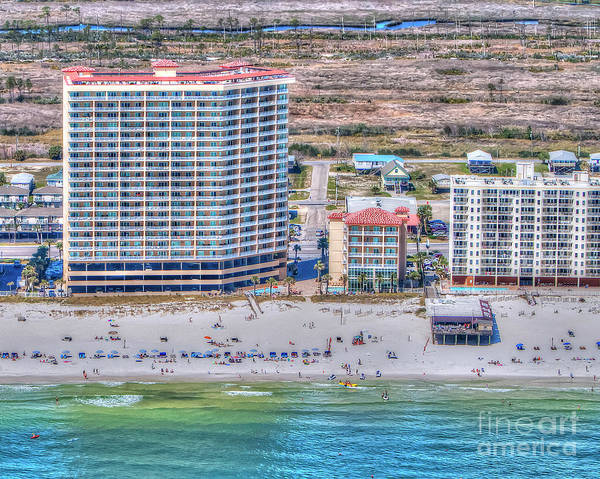 Photograph - Sea Winds  Sea N Suds by Gulf Coast Aerials -