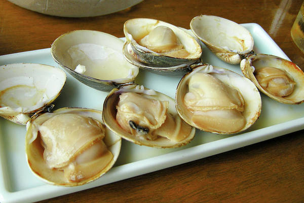 Tray Photograph - Seafood Baking by Takeshi.k