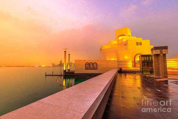 Photograph - Seafront And Dhow Harbour by Benny Marty