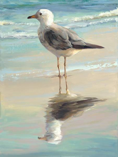 Wall Art - Painting - Seagull I by Laurie Snow Hein