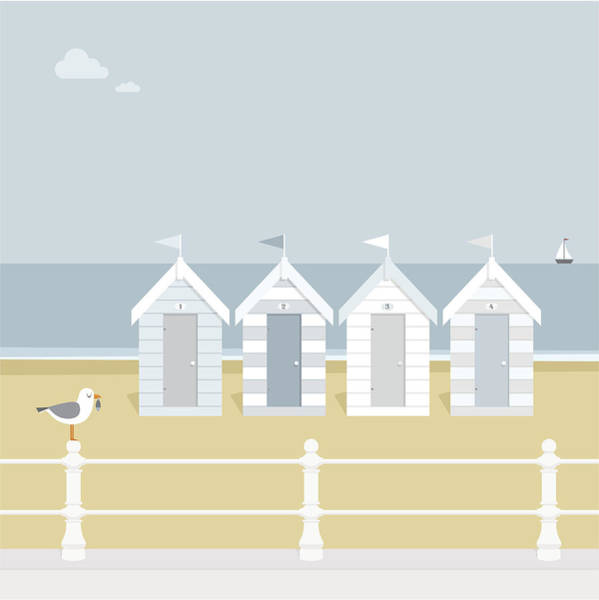 Seagull Digital Art - Seagull Waiting On The Beach Goers To by Myillo