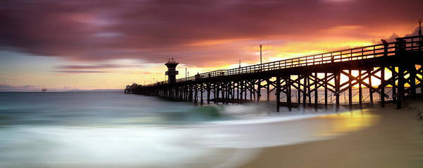 Wall Art - Photograph - Seal Beach Pastels by Sean Davey