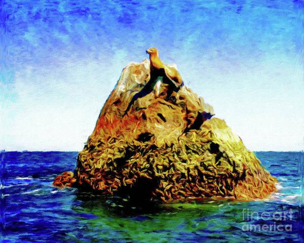 Wall Art - Photograph - Seal Rock by Jerome Stumphauzer