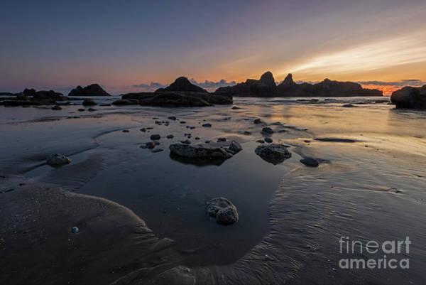 Wall Art - Photograph - Seal Rock Sundown by Mike Dawson