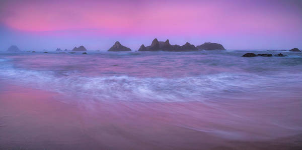 Photograph - Seal Rock Sunrise  by Emmanuel Panagiotakis