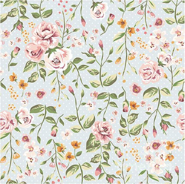 Wall Art - Digital Art - Seamless Floral Pattern by Shmagamot