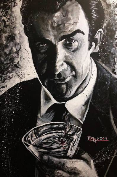 From Russia With Love Wall Art - Painting - Sean Connery by Jay -dARTy