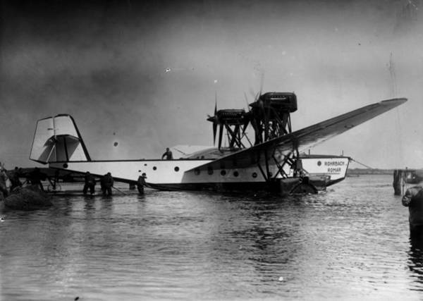 Seaplanes Photograph - Seaplane by General Photographic Agency